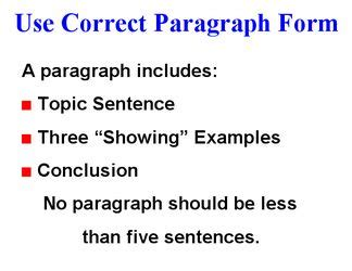 Three paragraph opinion essay